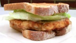 Chicken Schnitzel Sandwich Recipe