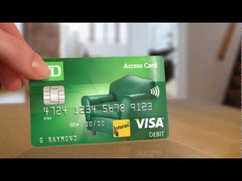 A Debit Card With Benefits: TD Access Card - TD Bank Canada