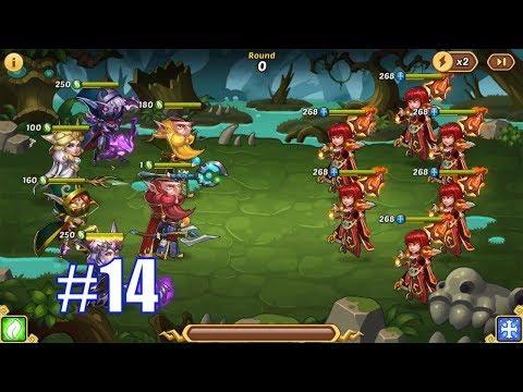 IDLE HEROES SEASONAL - FEBRUARY #14   Team Full Forest