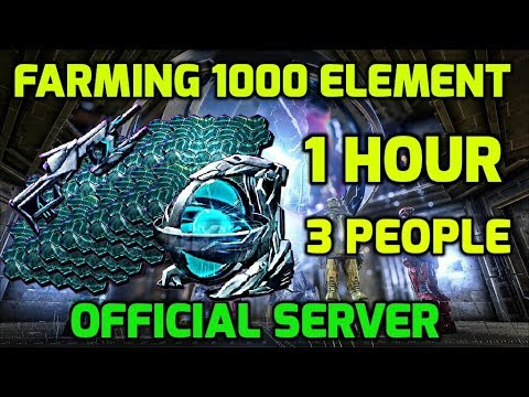 How to EASILY Farm 1000 Element in 1 Hour Tek Tier Tutorial Guild - Official Server -