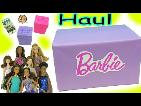 Thumbnail: Giant Box of Barbie Dolls (Quinceañera, Pool Chic, Festival + More) Haul Video