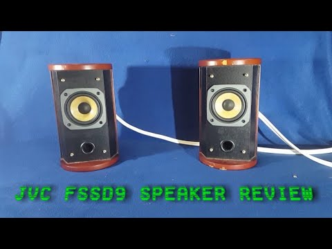 JVC FSSD9 Executive Stereo Speaker System Review And TearDown