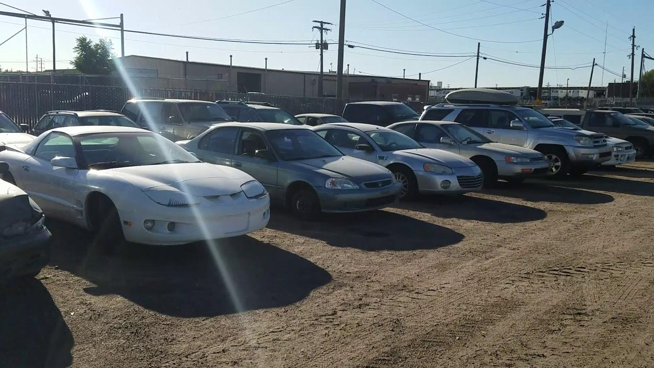 Police Impound Auction >> City County Of Denver Impound Auction Walkthrough