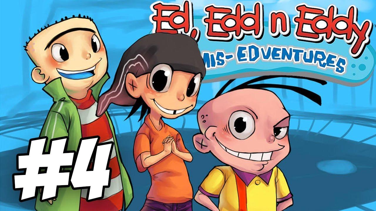 Ed Edd N Eddy The Mis Edventures Walkthrough Ed Zilla Part 4