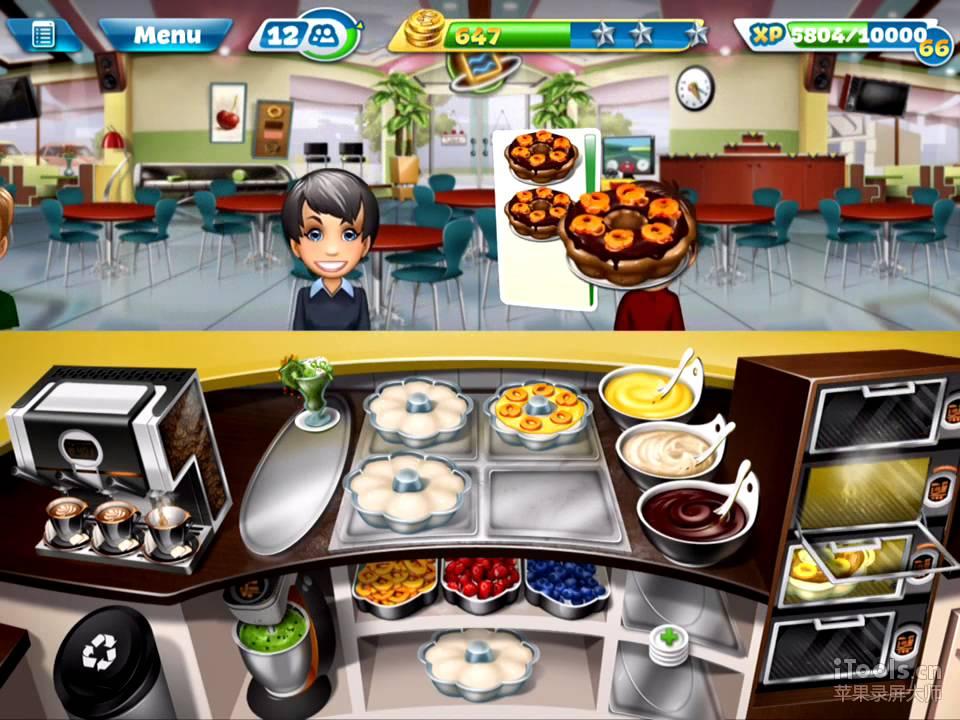 Cooking Fever Bakery Level 40 3 Stars