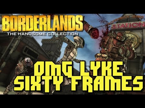 Borderlands The Handsome Collection Playstation 4 60 FPS Playthrough