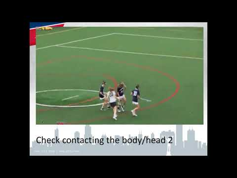 Legal And Illegal Contact In Girls' Lacrosse 1