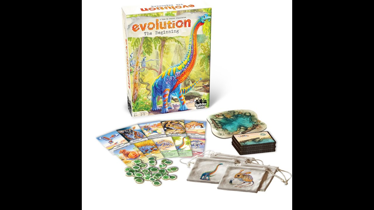 How To Play Evolution: The Beginning by North Star Games ...