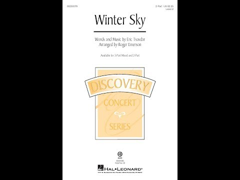 Winter Sky (2-Part) - Arranged by Roger Emerson