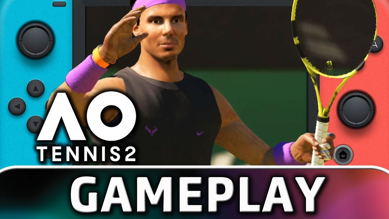 AO Tennis 2 | 10 Minutes of Gameplay on Nintendo Switch