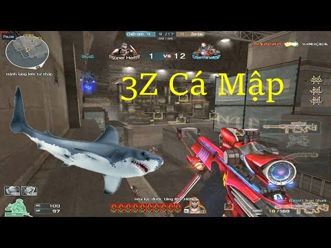 [ Bình Luận CF ] 3z-Iron Shark bắn như cái máy - Tiền Zombie v4
