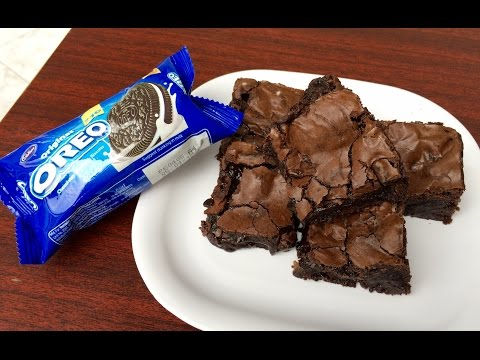 Fudgy Oreo Brownies | Kitchen Time with Neha