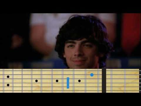 Demi Lovato - Camp Rock 2 song guitar chords - YouTube
