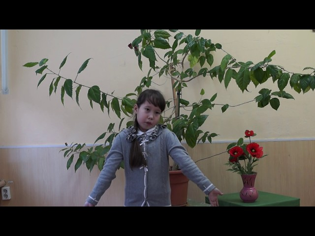 Изображение предпросмотра прочтения – КаринаКамалетдинова читает произведение «Баловство» М.И.Цветаевой