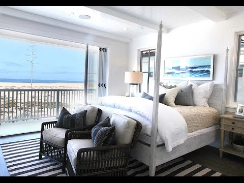 Beach House Bedroom - YouTube
