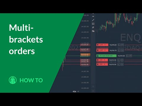 How to place Multi-Brackets orders in Quantower
