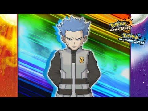 Pokemon Ultra Sun and Ultra Moon - Cyrus Battle! (Team Rainbow Rocket)