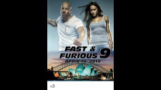New Fast and Furious 9 Trailer in tamil