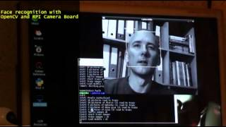 Rasperry Pi Camera Board with OpenCV : Face recognition