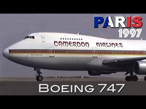 20 Years Ago these Boeing 747s operated into Paris