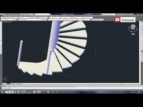 Full Download Autocad 3d Modelisation D Un Escalier