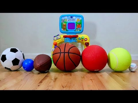 Learn the Names of Sport Ball for Toddler and Baby