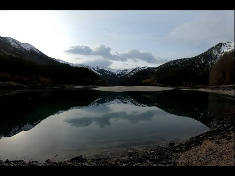 Backcountry Fishing - Cutthroat Trout At Upper Palisades Lake