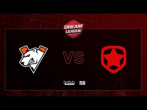 Virtus.pro Vs Gambit, DreamLeague S13 QL, Bo3, Game 1 [Maelstorm & Jam]