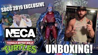 sdcc 2019 exclusive neca ninja turtles unboxing
