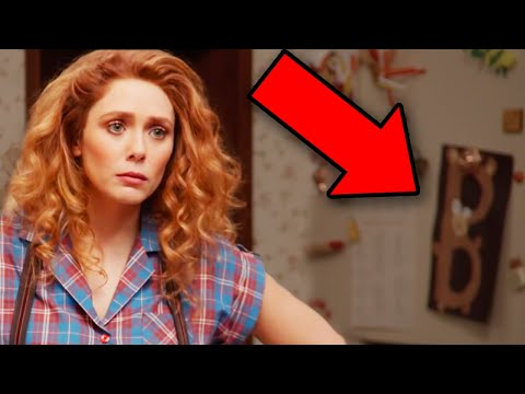 WANDAVISION Trailer Breakdown! Easter Eggs & Details You Missed!