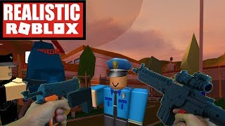Realistic Roblox - ESCAPING ROBLOX JAIL IN REAL LIFE! ROBLOX IRL PRISON ESCAPE! ROBLOX JAILBREAK