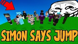 PLAYING SIMON SAYS WITH THE SERVER (Minecraft Trolling)