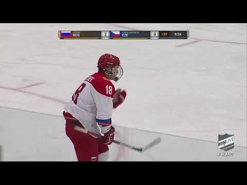 Мировой кубок вызова U18. Полуфинал. Чехия - Россия. Обзор матча.