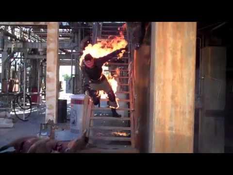Eric Linden  Stuntman on Fire