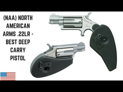 North American Arms .22LR - Best Deep Carry Pistol NAA .22LR