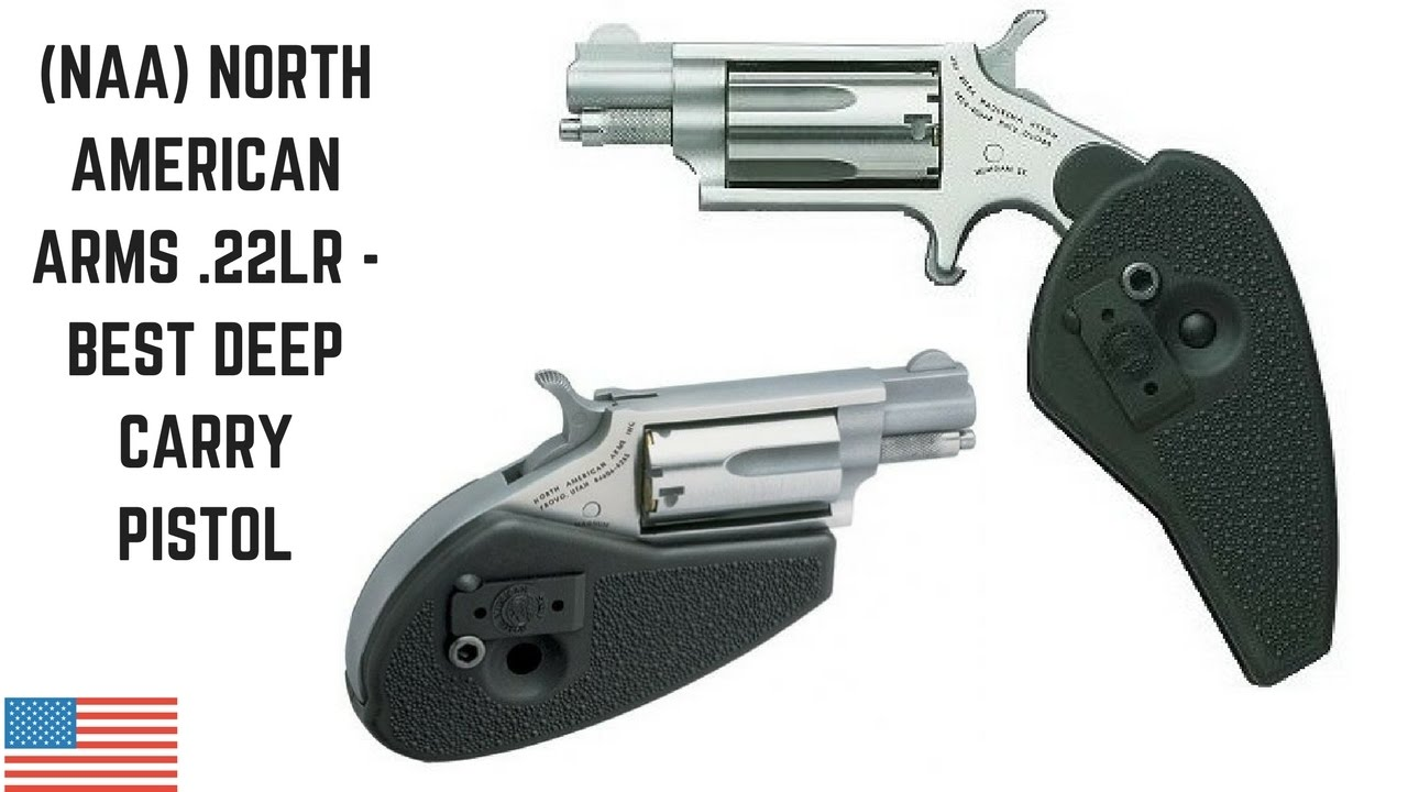 North American Arms .22LR - Best Deep Carry Pistol NAA ...