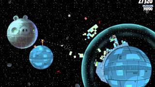 Angry Birds Star Wars HD Mac - Death Star Level 2-8 3 Walkthrough Gameplay