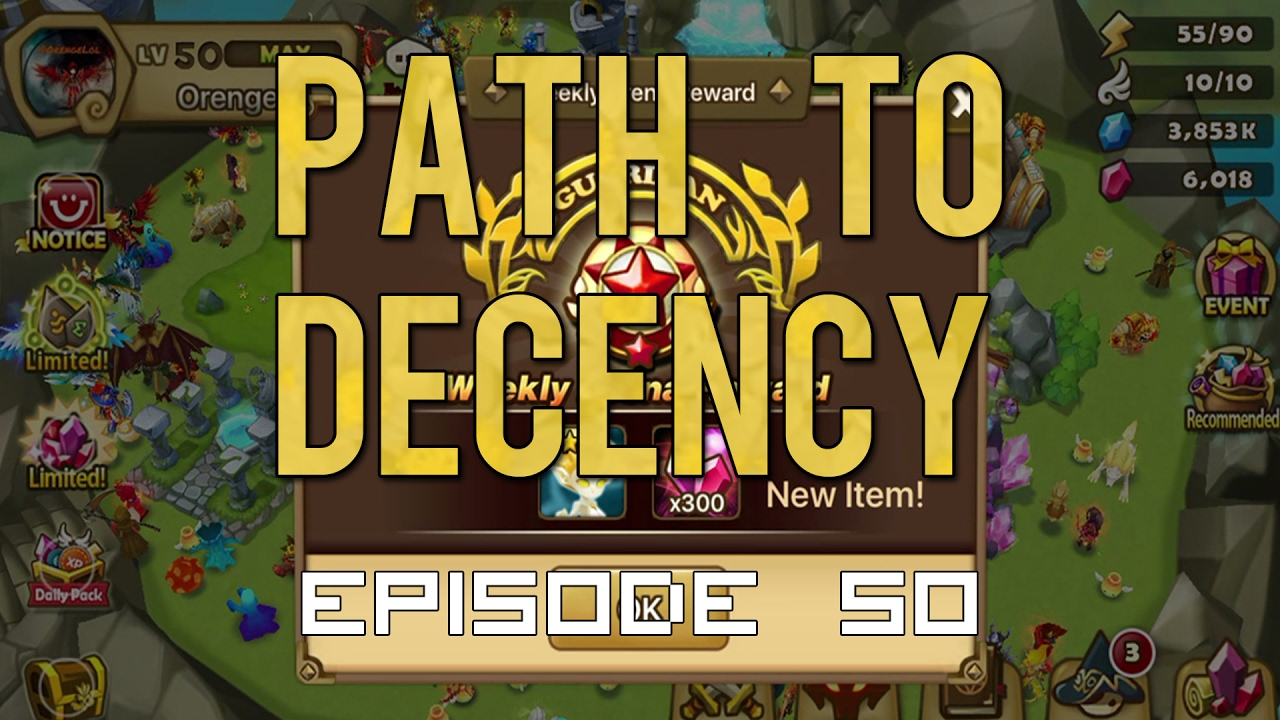 Summoners War: Path to Decency EP50 - G1 ARENA!!!! R5 two