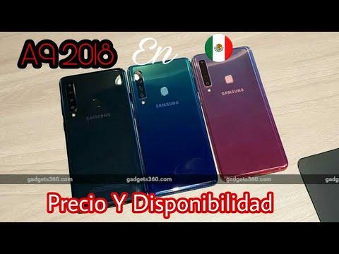 92b5a7fd809 Samsung Galaxy A9 2018  El 1er Smartphone Con 4 Cámaras Llega A México Precio  Y Disponibilidad