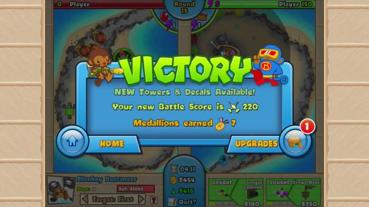 Bloons TD Battles, a balloon-busting throw-down for Windows