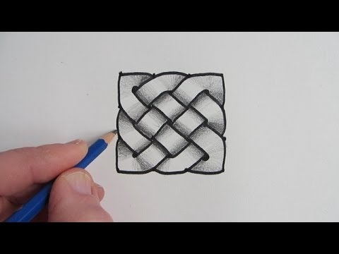 How to draw a celtic knot step by step