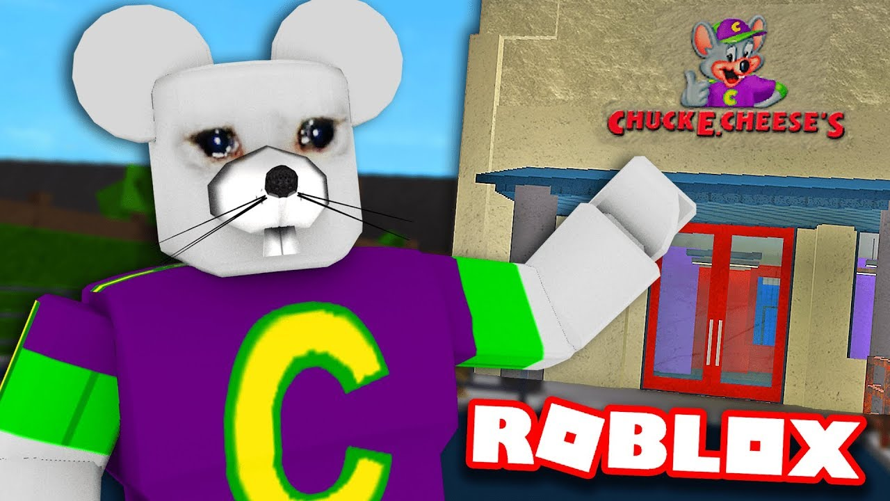 I opened a CHUCK E  CHEESE in BLOXBURG    here's what happened
