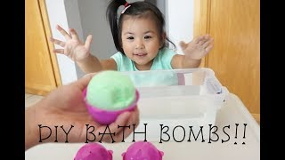 DIY BATH BOMBS! Does Pikmi Pop containers work?
