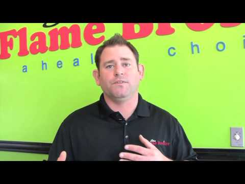 Business 101-Tim Van Horn owner of Flame Broiler in Long Beach, Ca.