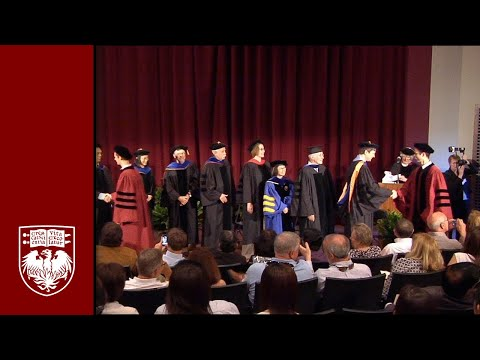 Division of the Physical Sciences Diploma and Hooding Ceremony