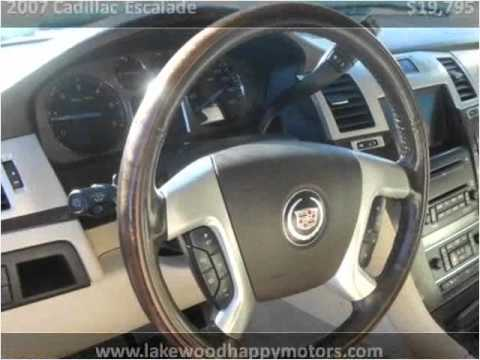 2007 cadillac escalade used cars lakewood co youtube for Happy motors inc lakewood co