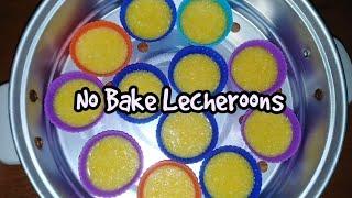 NO BAKE LECHEROONS | No Oven | How to make Lecheroons | Lecheroons Recipe | Taste Buds PH
