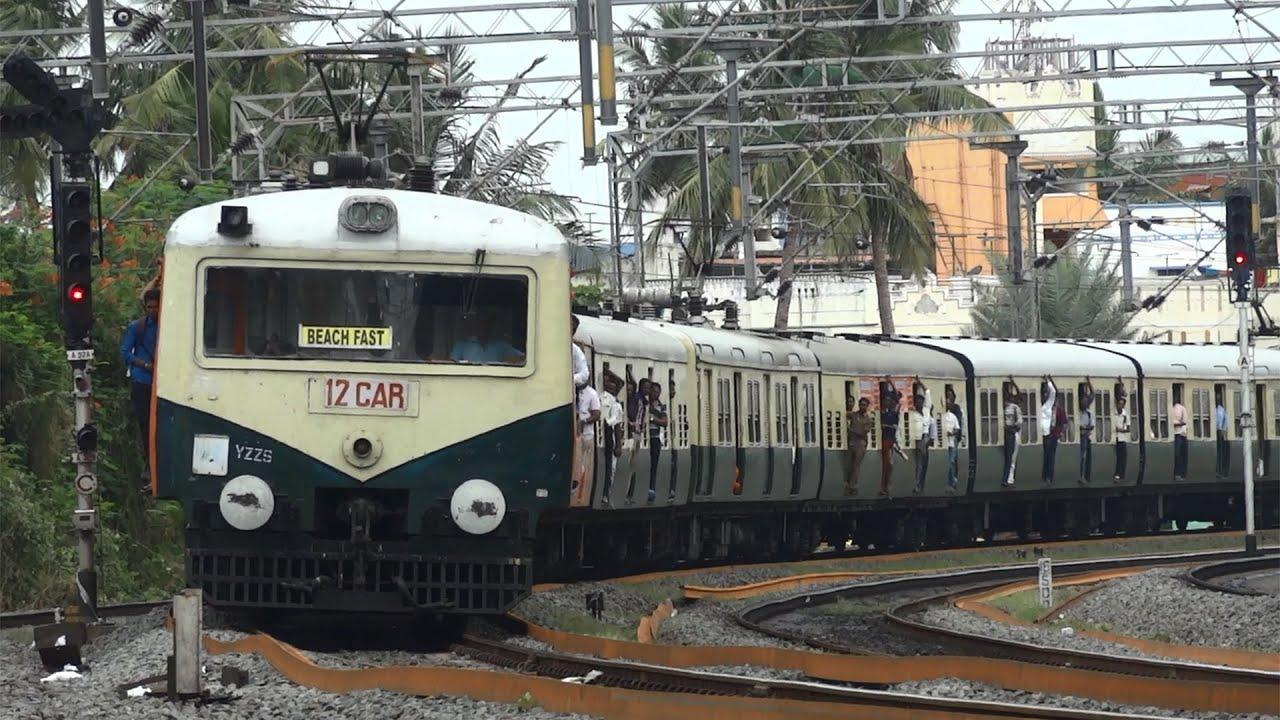 Image result for chennai suburban train