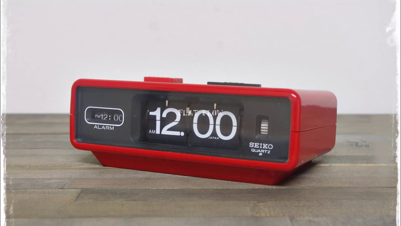 purchase cheap 41832 a8d42 【Vintage Flip Clock】1970's SEIKO QN 407R (パタパタ時計)