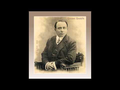 """Tenore GIOVANNI ZENATELLO -  Pagliacci """"No, pagliaccio non son"""" - (1909)"""